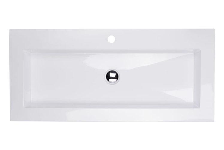 Umywalka prostokątna 100x45