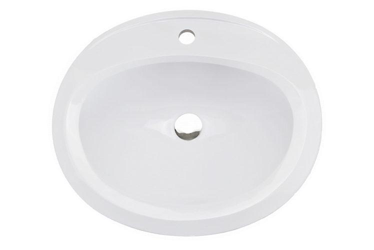 Umywalka owalna 54x46